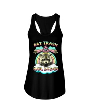 Eat Trash Ladies Flowy Tank thumbnail