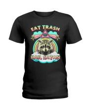 Eat Trash Ladies T-Shirt thumbnail