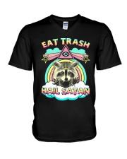 Eat Trash V-Neck T-Shirt thumbnail
