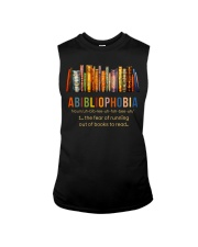 Fear Out Of Books Sleeveless Tee thumbnail