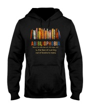 Fear Out Of Books Hooded Sweatshirt thumbnail