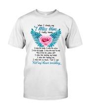 Feel My Heart Breaking Classic T-Shirt front