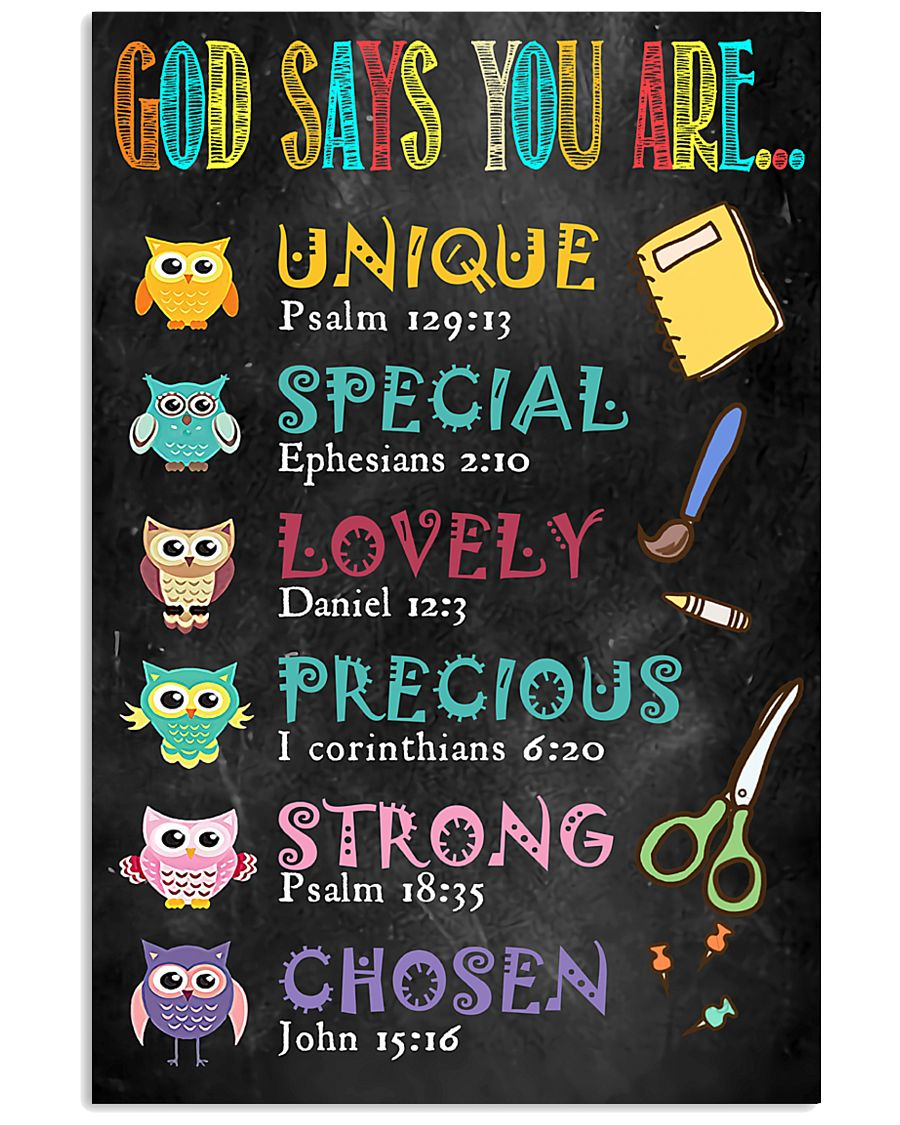 God Says You Are 11x17 Poster