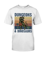 Bungeon Dinosaurs Classic T-Shirt front