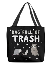 Bag Full Of Trash All-over Tote front