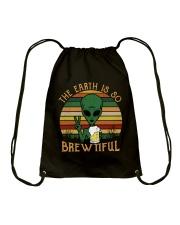 The Earth Is So Brewtiful Drawstring Bag thumbnail