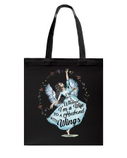 Im A Wife To A Husband With Wings Tote Bag thumbnail