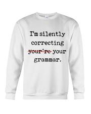 I Am Silently Correcting Crewneck Sweatshirt thumbnail