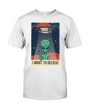 I Want To Believe Classic T-Shirt thumbnail