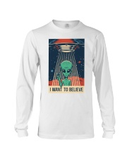 I Want To Believe Long Sleeve Tee thumbnail