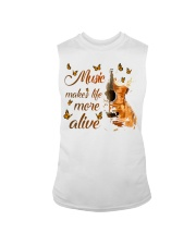 Music Makes Life More Alive Sleeveless Tee tile