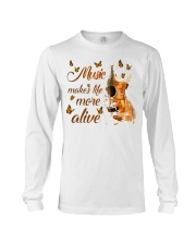 Music Makes Life More Alive Long Sleeve Tee tile