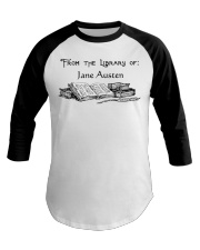 From The Library Baseball Tee thumbnail