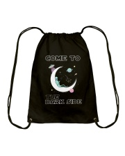 Come To The Dark Side Drawstring Bag thumbnail