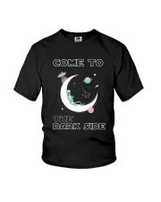Come To The Dark Side Youth T-Shirt thumbnail