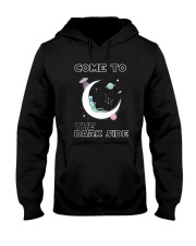 Come To The Dark Side Hooded Sweatshirt thumbnail