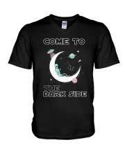 Come To The Dark Side V-Neck T-Shirt thumbnail