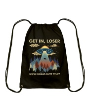 Get In Loser Drawstring Bag thumbnail