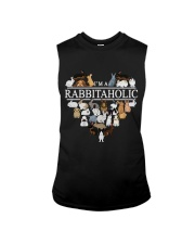Im A Rabbitaholic Sleeveless Tee thumbnail
