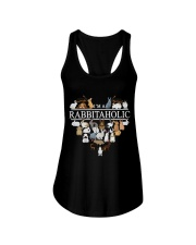 Im A Rabbitaholic Ladies Flowy Tank tile