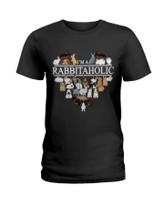Im A Rabbitaholic Ladies T-Shirt thumbnail