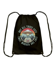 Not All Those Cats Are Lost Drawstring Bag thumbnail