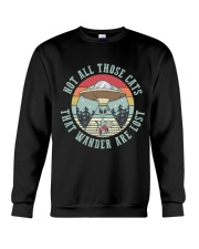 Not All Those Cats Are Lost Crewneck Sweatshirt thumbnail