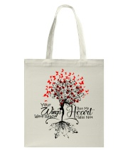 Heaven Your Wings Were Ready Tote Bag thumbnail