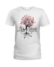 Heaven Your Wings Were Ready Ladies T-Shirt thumbnail