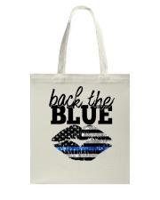 Back The Blue Tote Bag thumbnail
