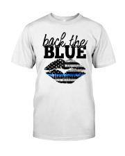 Back The Blue Classic T-Shirt tile