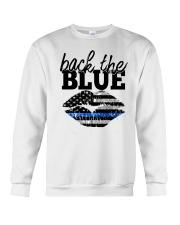 Back The Blue Crewneck Sweatshirt thumbnail