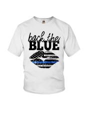 Back The Blue Youth T-Shirt thumbnail