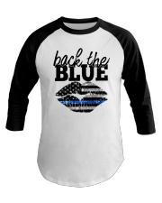 Back The Blue Baseball Tee thumbnail