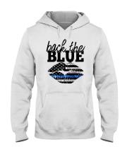 Back The Blue Hooded Sweatshirt thumbnail