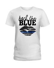 Back The Blue Ladies T-Shirt thumbnail