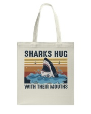 Sharks Hug With Their Mouths Tote Bag thumbnail