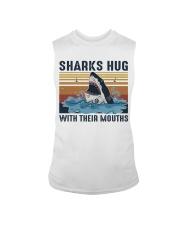 Sharks Hug With Their Mouths Sleeveless Tee thumbnail