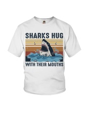 Sharks Hug With Their Mouths Youth T-Shirt thumbnail