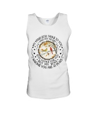 My Mind Talk To You Unisex Tank tile