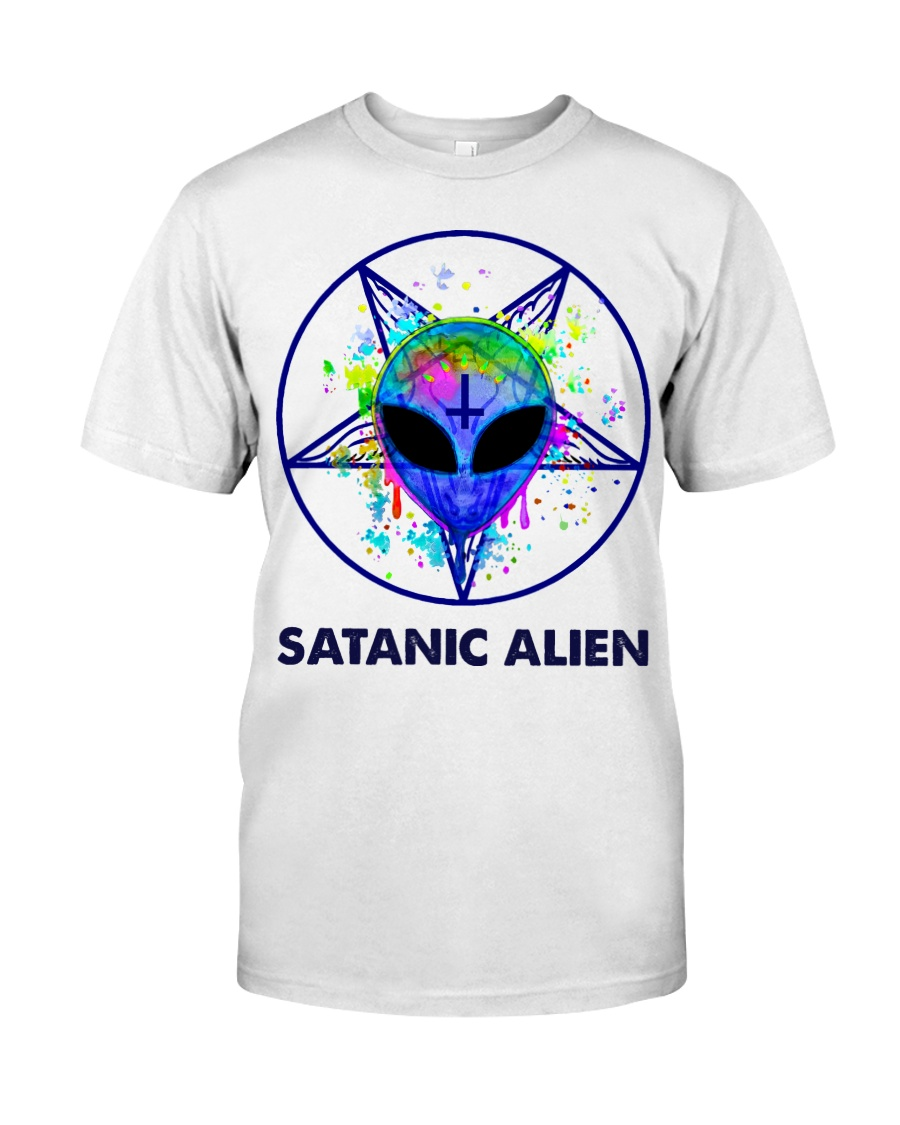 Satanic Alien Classic T-Shirt