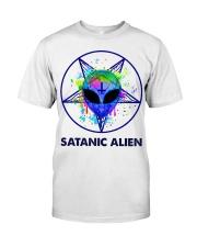 Satanic Alien Classic T-Shirt front