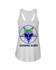 Satanic Alien Ladies Flowy Tank thumbnail