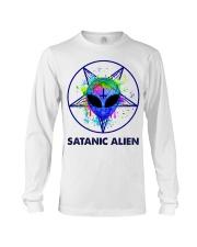 Satanic Alien Long Sleeve Tee thumbnail