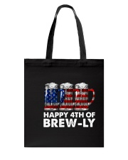 Happy Four Of July Tote Bag thumbnail