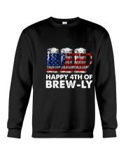 Happy Four Of July Crewneck Sweatshirt thumbnail