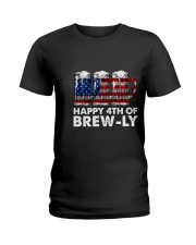 Happy Four Of July Ladies T-Shirt thumbnail