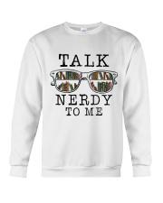 Talk Nerdy To Me Crewneck Sweatshirt thumbnail