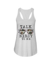 Talk Nerdy To Me Ladies Flowy Tank thumbnail