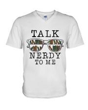 Talk Nerdy To Me V-Neck T-Shirt thumbnail